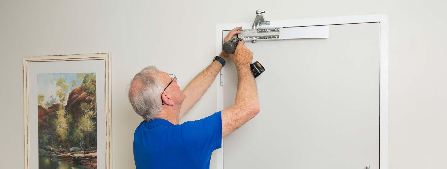 skilled tradesman and master locksmith