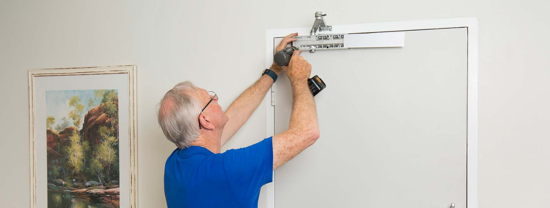 skilled tradesman and master locksmith